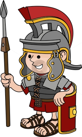 cutcaster-photo-100224603-Illustration-of-Roman-soldier