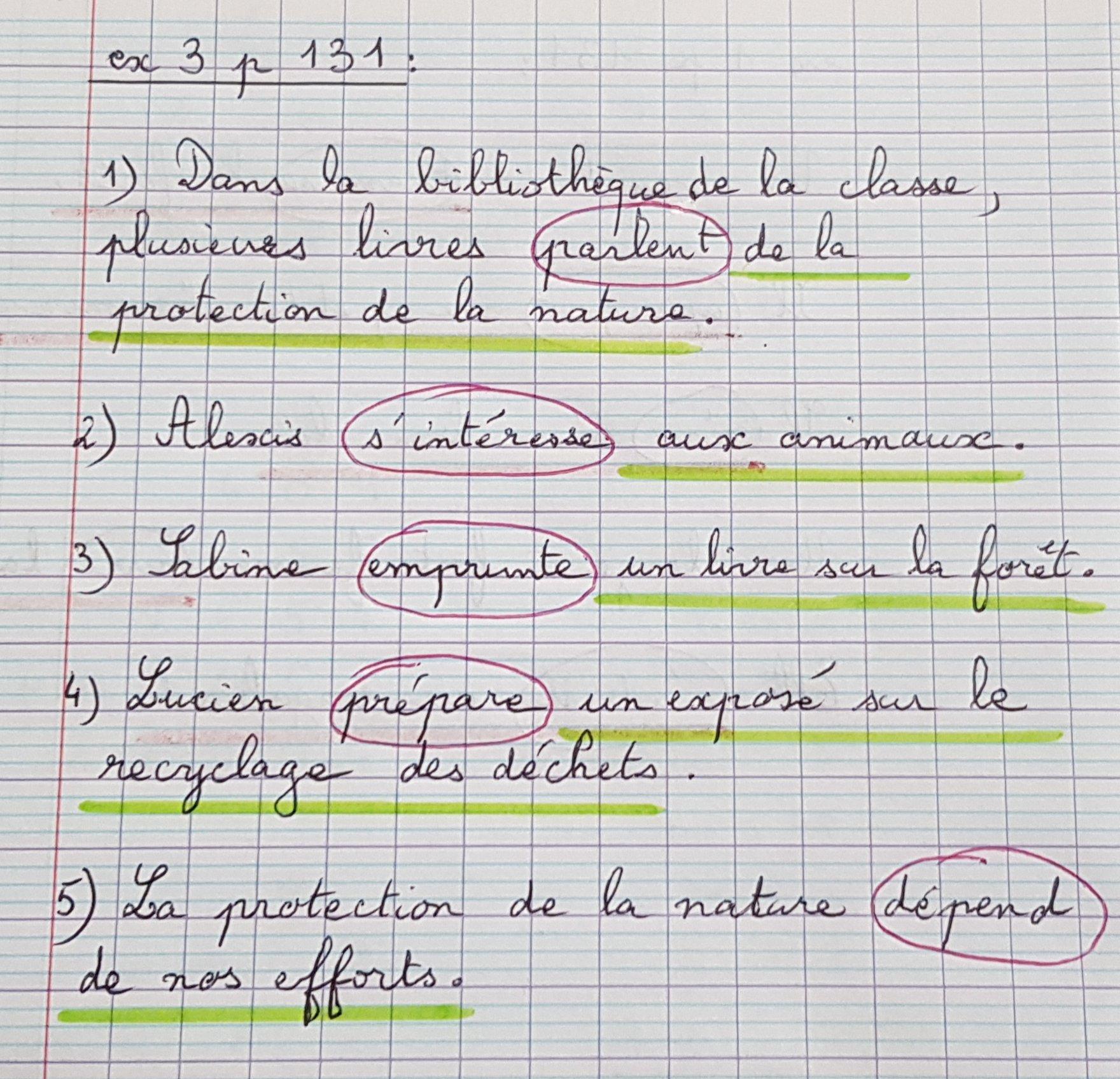Classe De Ce2 Cm1 De L Ecole Anatole France Correction Semaine Du 8 Juin