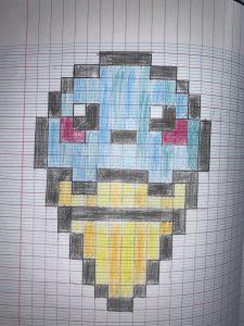 Pixel Art Classe Des Cp De L Ecole Anatole France Rouen