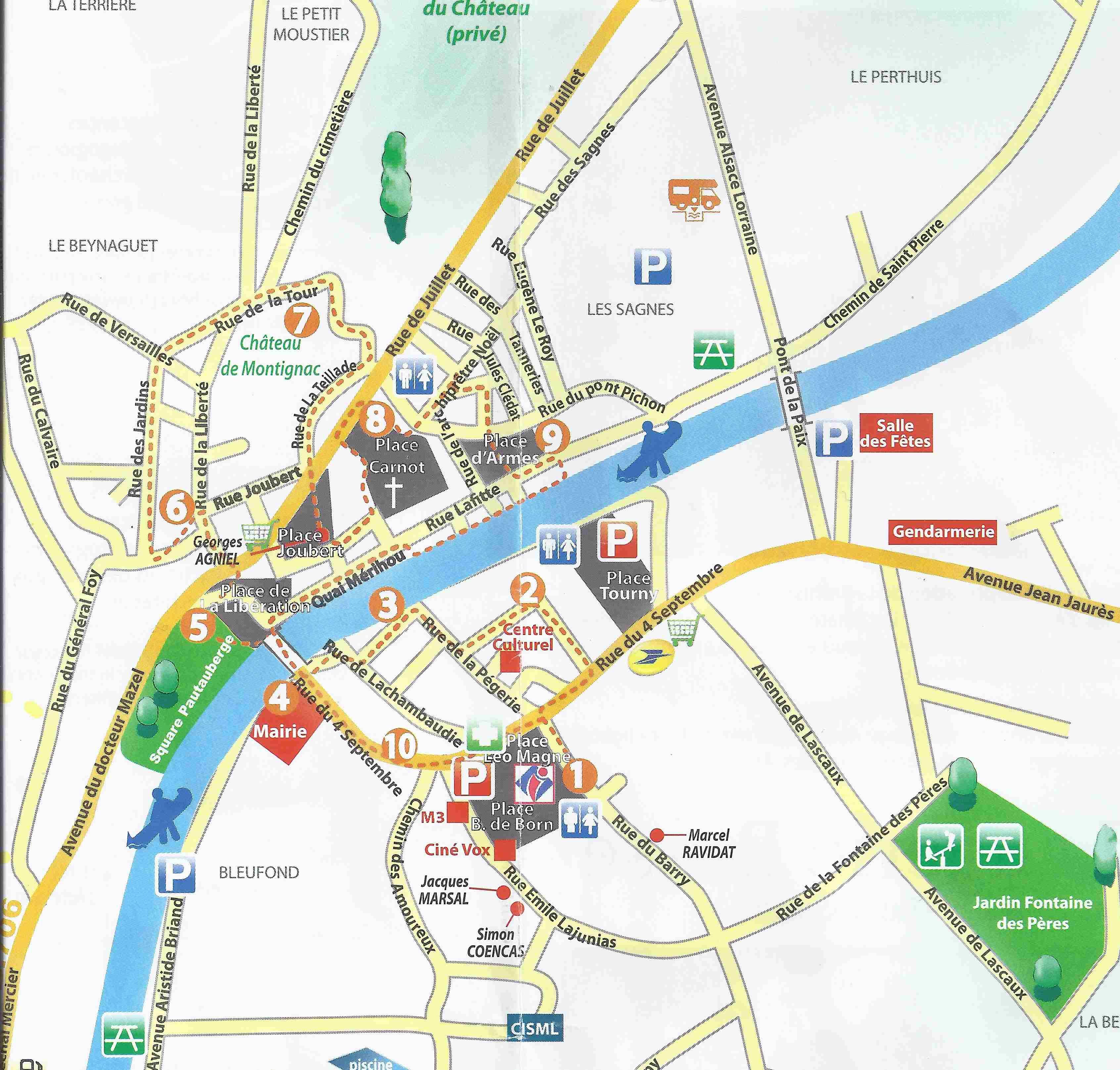 Ecole ars ne lupin jumi ges classe patrimoine lundi 21 mars visite de montignac - Office de tourisme plan de la tour ...