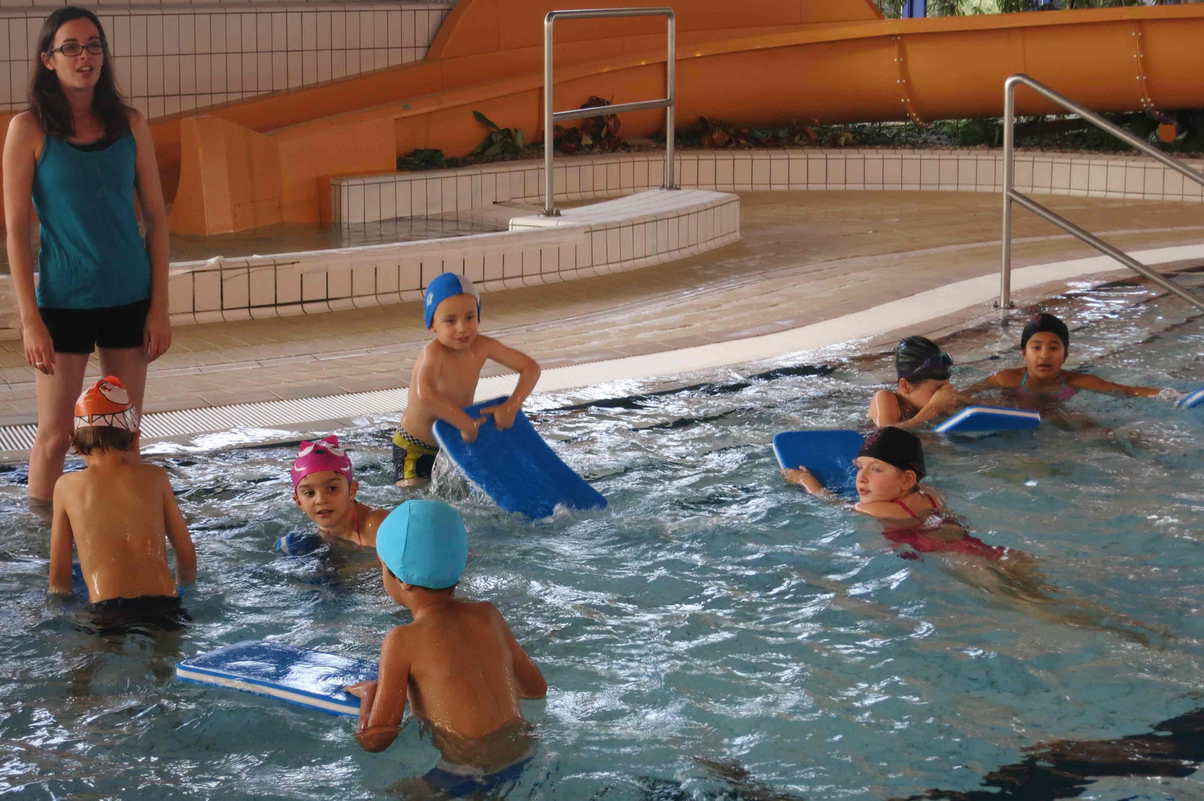 Cours de natation ecole de la chapelle r anville for Piscine cours de natation