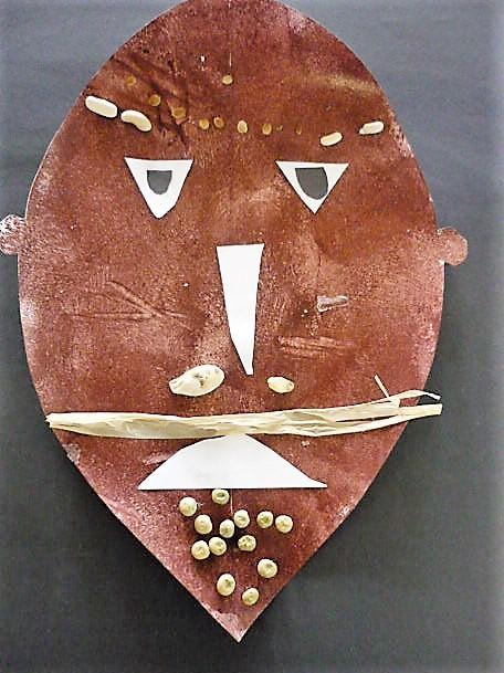 masque africain rouen