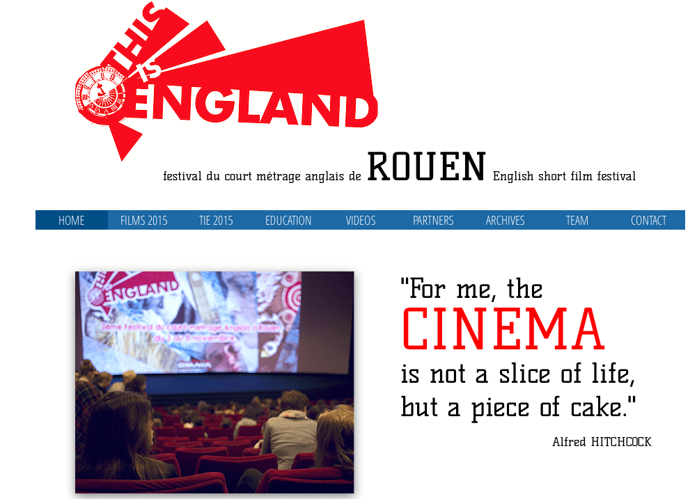 « This Is England » Short-Film Festival of Rouen – Friday, November 17th