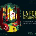 """La forêt monumentale : """"Quand l'art se fait ludique et durable"""""""